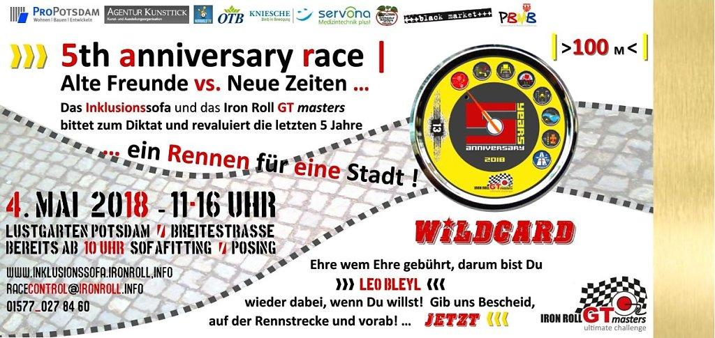 5th years anniversary race